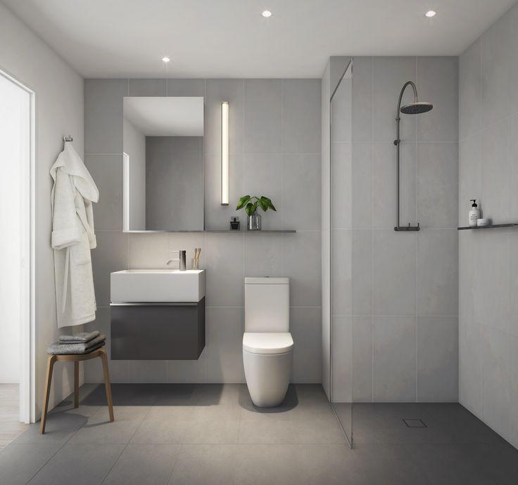Bathroom: dark scheme