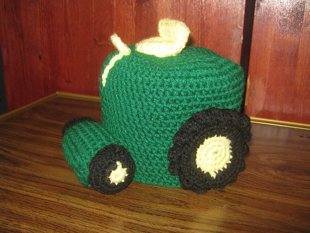 Ravelry: CandidQuilts' Tractor Hat & Stuffie