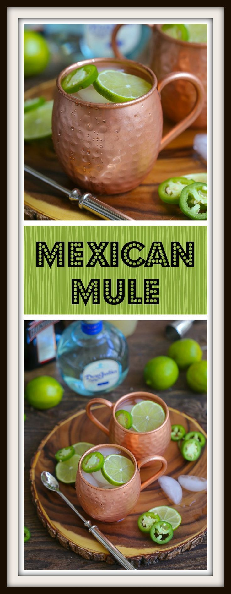 The traditional Moscow mule gets a Mexican twist with tequila and sliced jalapeño. Homemade ginger beer really turns up the wow factor (plus it's easier than you think)!