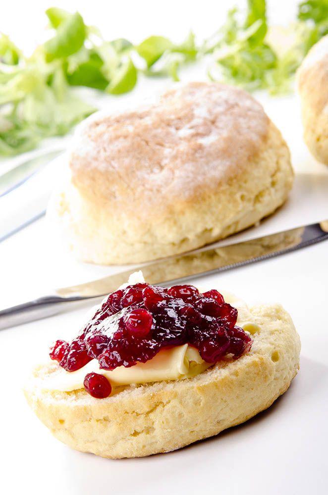 Jam and scones