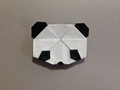 簡単 おりがみ パンダ origami panda - YouTube