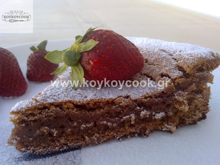 MOIST CHOCOLATE CAKE (GLUTEN FREE) WITH TACHINI