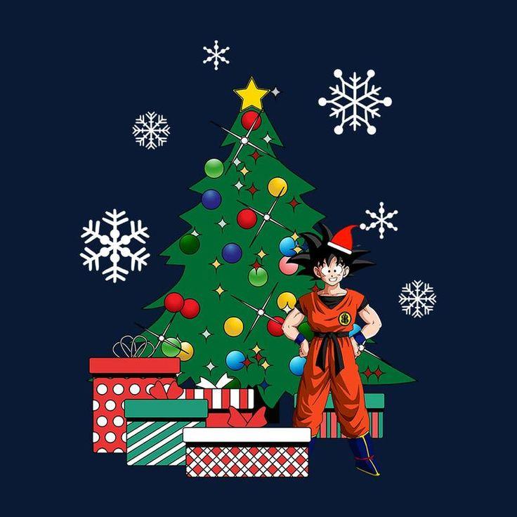 Goku Dragonball Z Around The Christmas Tree | Cloud City 7