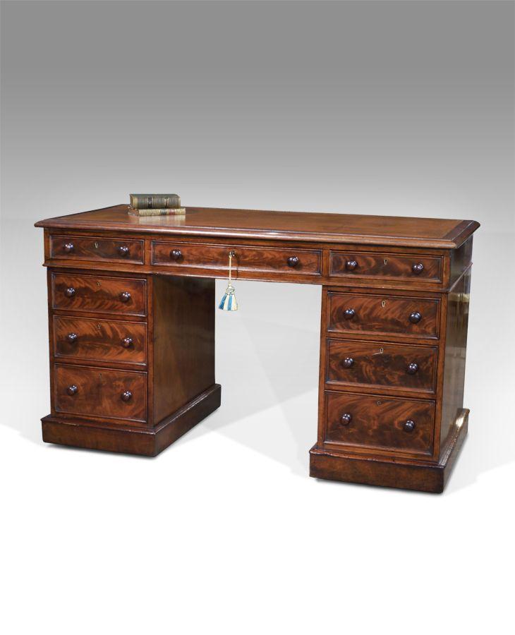 antique desk furniture uk. antique pedestal desk furniture uk