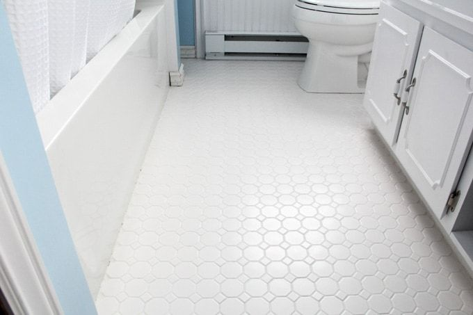How To Refresh White Grout Cleaner Tile Floor