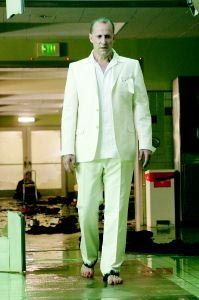 Peter Stormare as the Devil in Constantine. Hail Satan!!