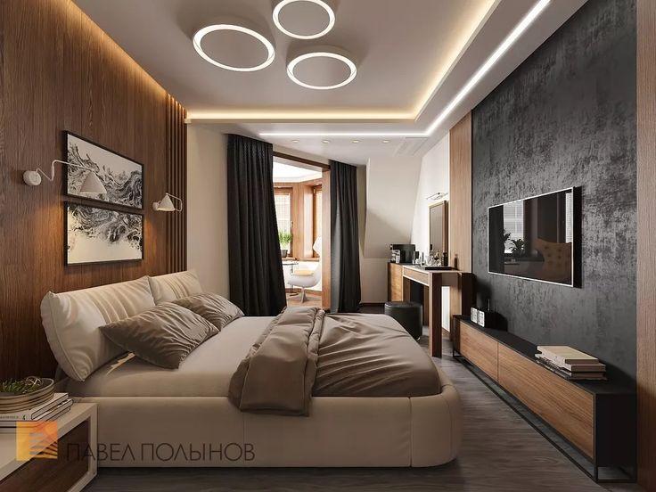 Фото: Дизайн спальни - Квартира в современном стиле с элементами лофта, ЖК «Эдельвейс», 102 кв.м.