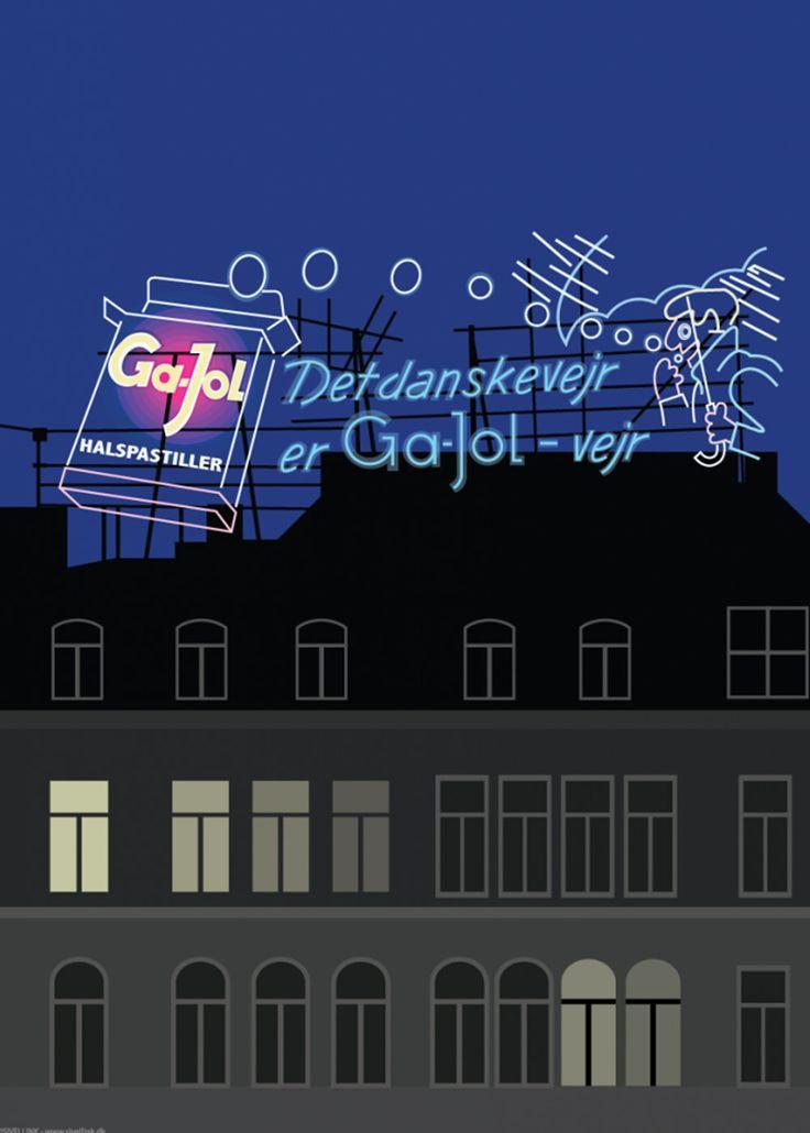 Plakater af København - Just Spotted