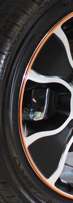 Black and Orange RimPro-Tec's