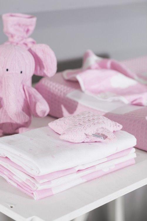 Jollein Decoratiehanger Waffle Pink Gemaakt Van Katoen