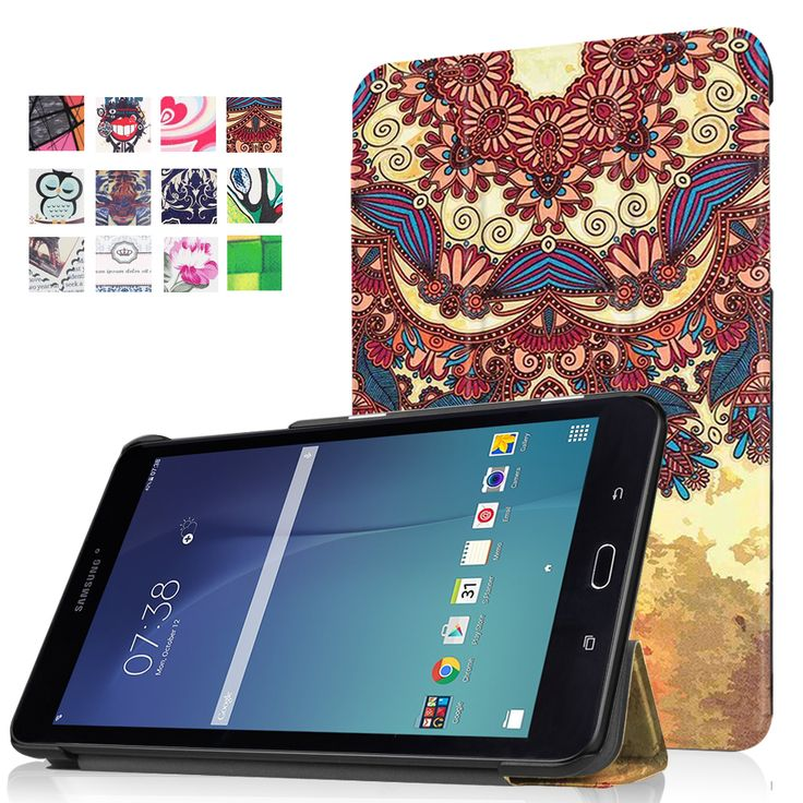 """Printing Case For Samsung Galaxy Tab E 8.0 T377 T337A T377P T375 8"""" Tablet  Cover Case"""