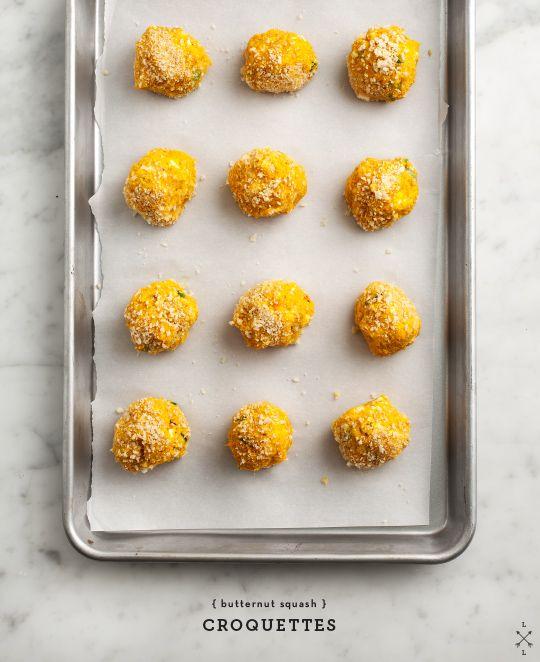 Butternut Squash Croquettes // loveandlemons.com
