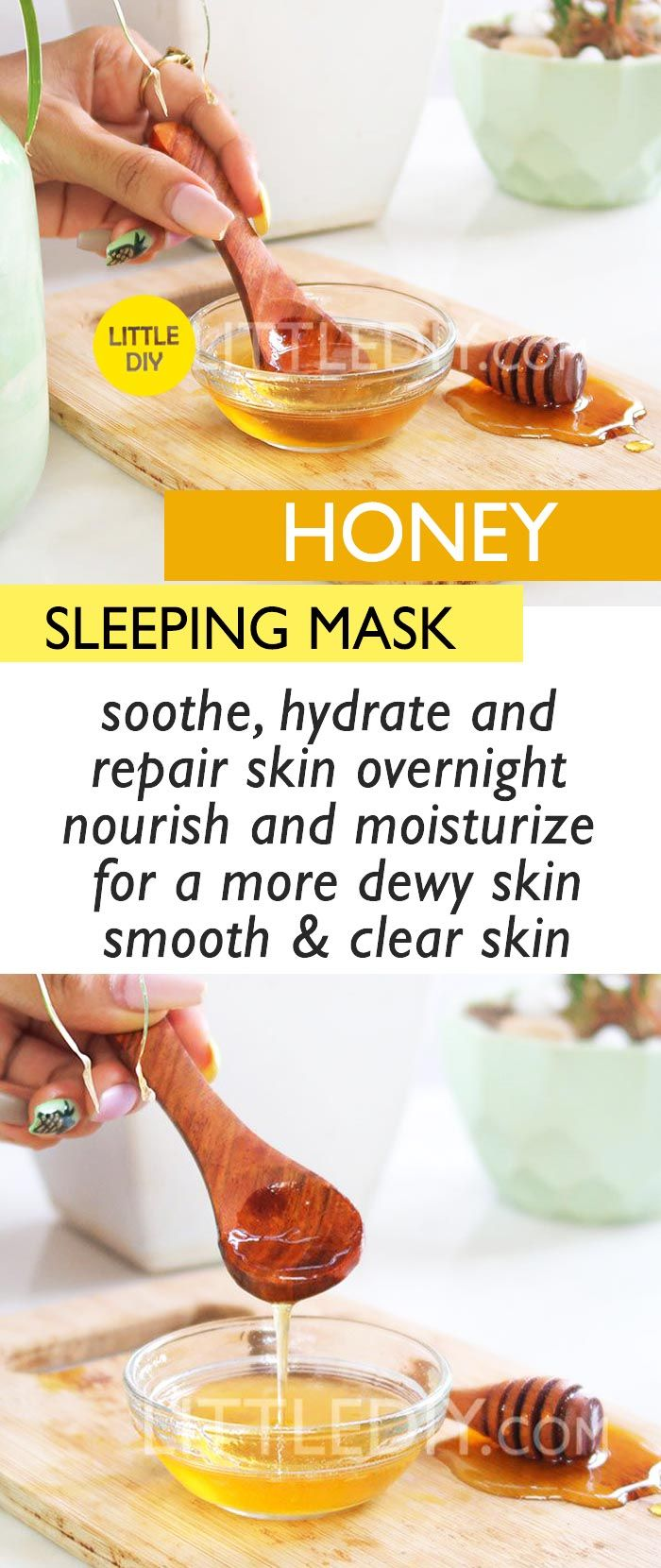 MOISTURIZING HONEY SLEEPING MASK Mask for dry skin, Face