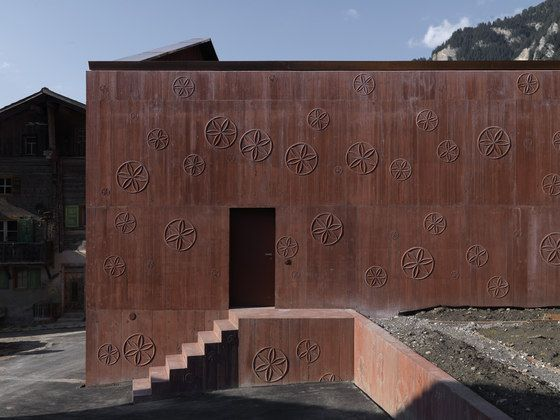 Bardill Studio de Valerio Olgiati | Maisons particulières