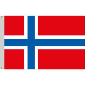 Drapeau de la Norvège  En vente sur http://www.mon-drapeau.com/