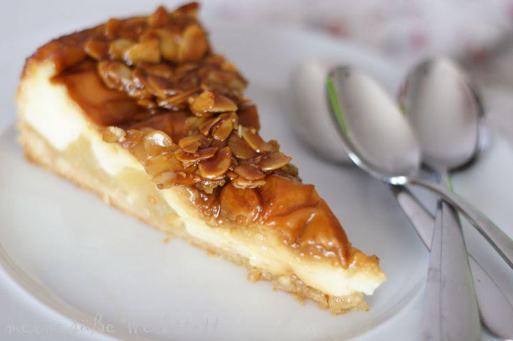 meine süsse werkstatt: Florentiner Apfelkuchen