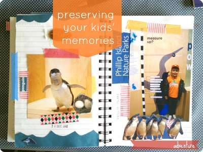 preserving the adventures your kids have and their memories of growing up