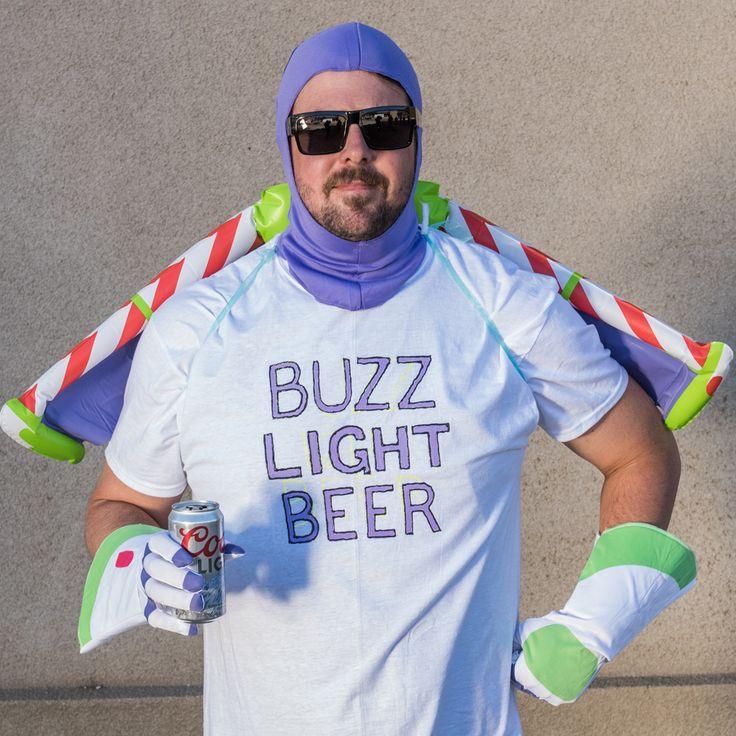 Buzz Light Beer Costume