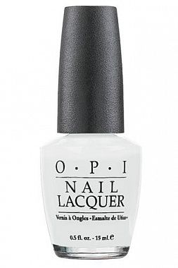 "Лак для ногтей OPI  ""Alpine Snow"", 15 ml"