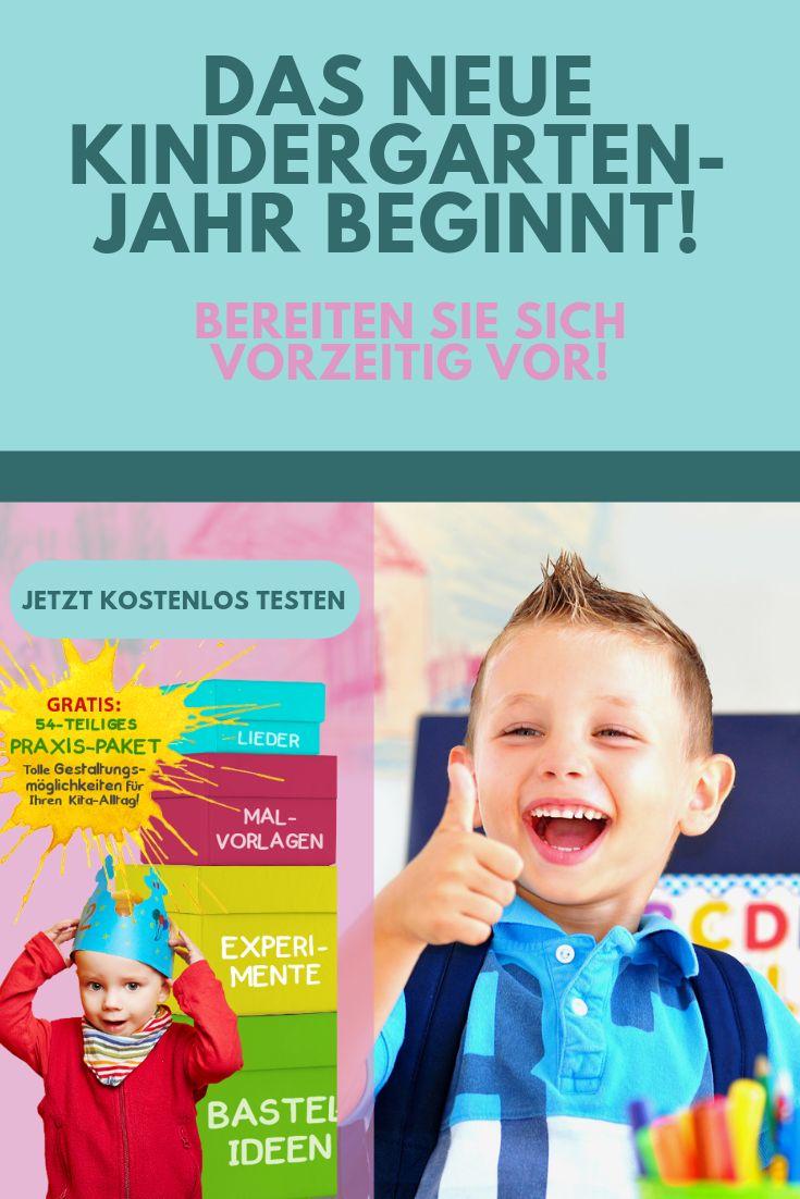 Vorbereitung auf das neue Kindergarten Jahr – PRO Kita Verlag