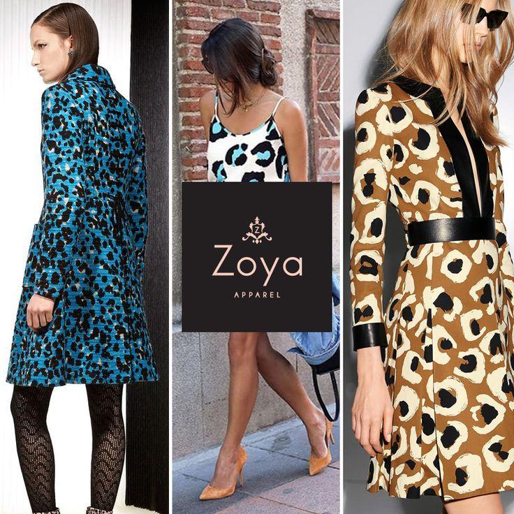 I choose intense Animal Print. #ZOYA #apparel #fashion #trends #animalprint #fall #winter2015