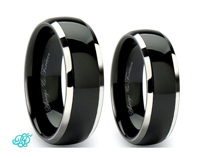 The 25 best Black wedding ring sets ideas on Pinterest