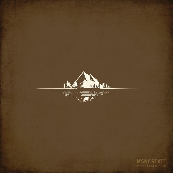 Mountain Logo illustration for Photography Logo