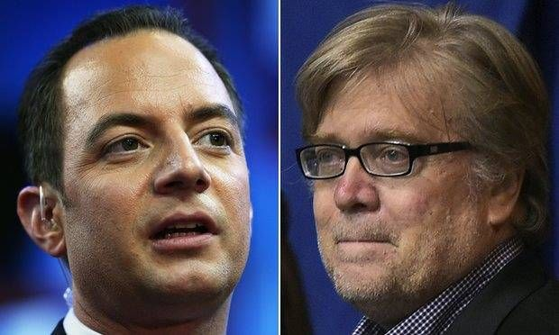 Stephen Bannon and Reince Priebus will lead Trump's White House, Donald Trump, US politics, US elections 2016, Trump administration, World Breaking News