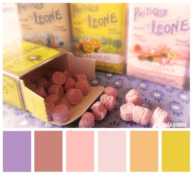 Pastiglie Leone -Italian candies in beautiful colors