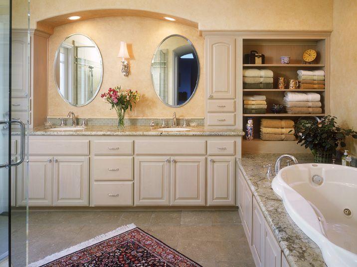 Simple Traditional Bathroom Vanities  BathroomAcom