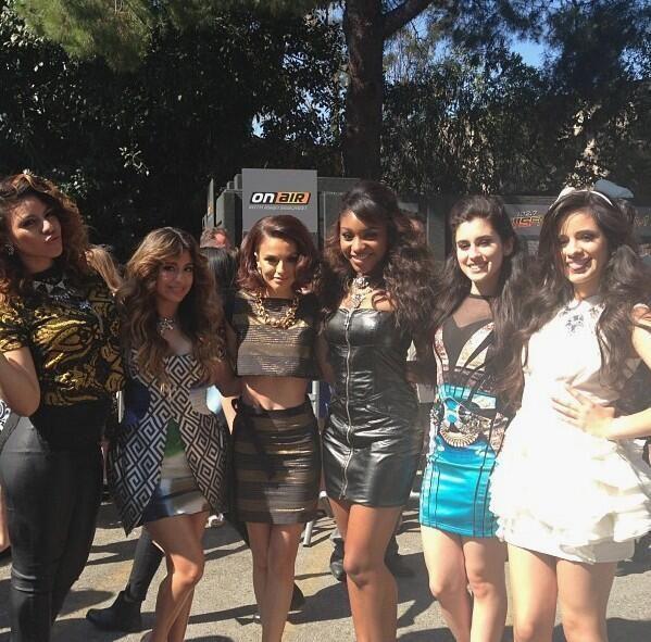 Fifth Harmony with Cher Lloyd