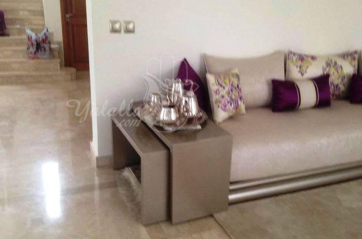 Salon Marocain Dream deco Pinterest Living rooms, Salon marocain ...