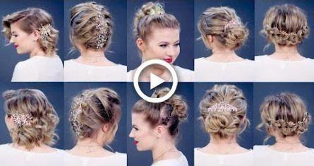 5 ELEGANT PROM HAIRSTYLES | Milabu #hair #hairstyles #promhairupdotutorial –