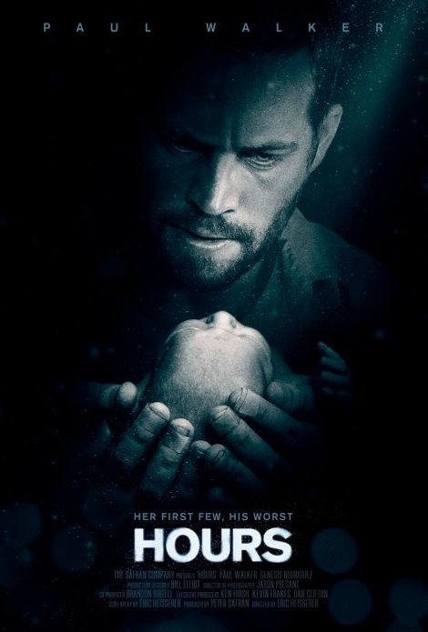 Hours , starring Paul Walker, Genesis Rodriguez, Nick Gomez, Judd Lormand. A father struggles to keep his infant daughter alive in the wake of Hurricane Katrina. #Thriller