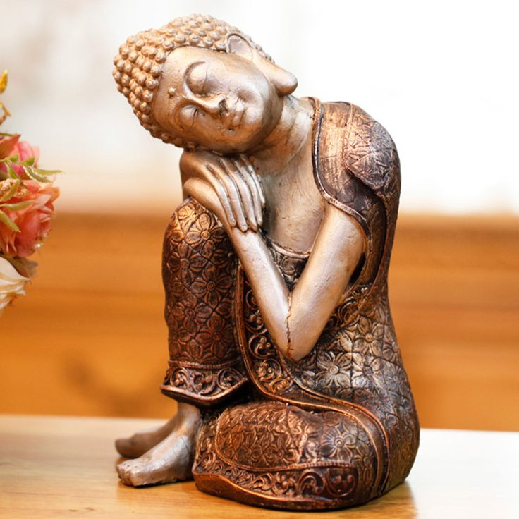 Creative Buddha Sakyamuni Buddha living room decoration decoration Home Furnishing Chinese ornaments crafts gifts. Yesterday's price: US $64.00 (52.69 EUR). Today's price: US $41.60 (34.32 EUR). Discount: 35%.