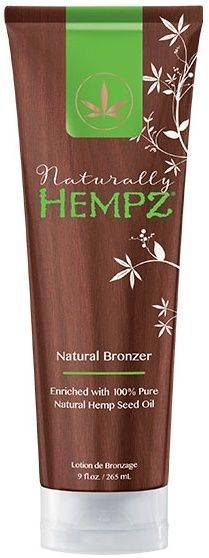 Hempz Naturally Hempz Natural Bronzer enriched with Hemp Seed Oil Tanning Lotion