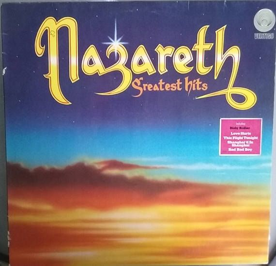 Nazareth Greatest Hits Vintage Record Album Vinyl Lp