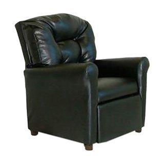 Dozydotes 4 Button Kids Child Recliner Chair - Black Leather Like (Black)  sc 1 st  Pinterest & Best 25+ Kids recliner chair ideas on Pinterest | Oversized ... islam-shia.org