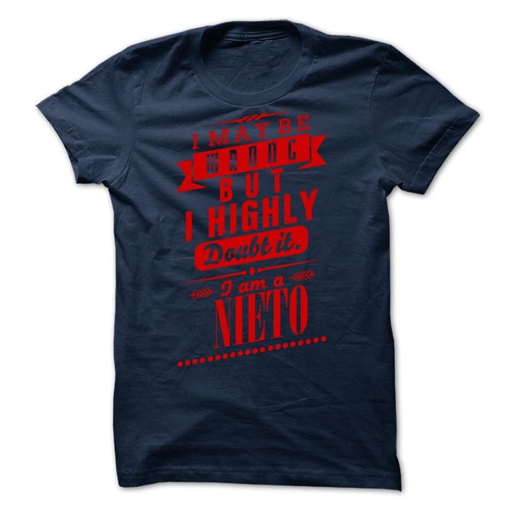 NIETO - I may  be wrong but i highly doubt it i am a NIETO