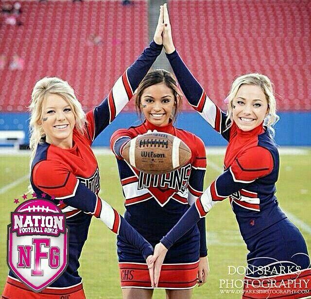 Preparando el equipo de #Cheer #NationGirls