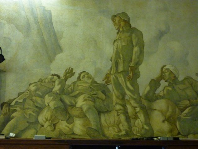 44 best images about remembering the dead of the great war for Clarks mural fresco