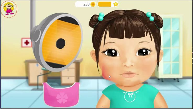 Sweet Baby Girsl Kids Hospital Game Play Buy toys for your baby. http://amzn.to/2jHieI6