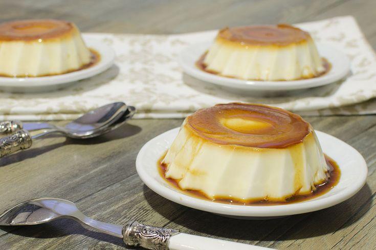 Flan de queso   Receta para Mycook