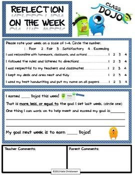 class dojo resource pack teacherspayteacherscom