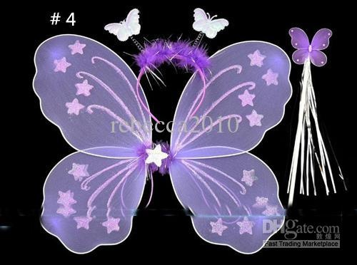 17 best baby fairy wings and wand images on pinterest for Butterfly wands wholesale