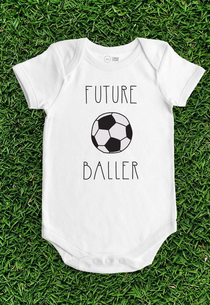 Soccer Baby Onesie - Future Baller