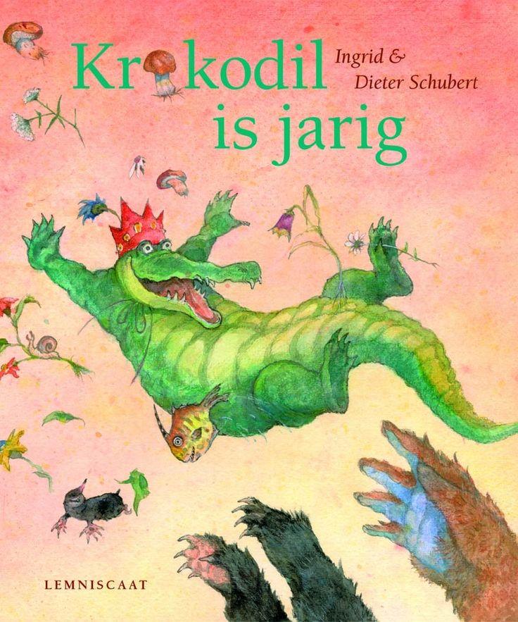 Krokodil is jarig - Ingrid en Dieter Schubert