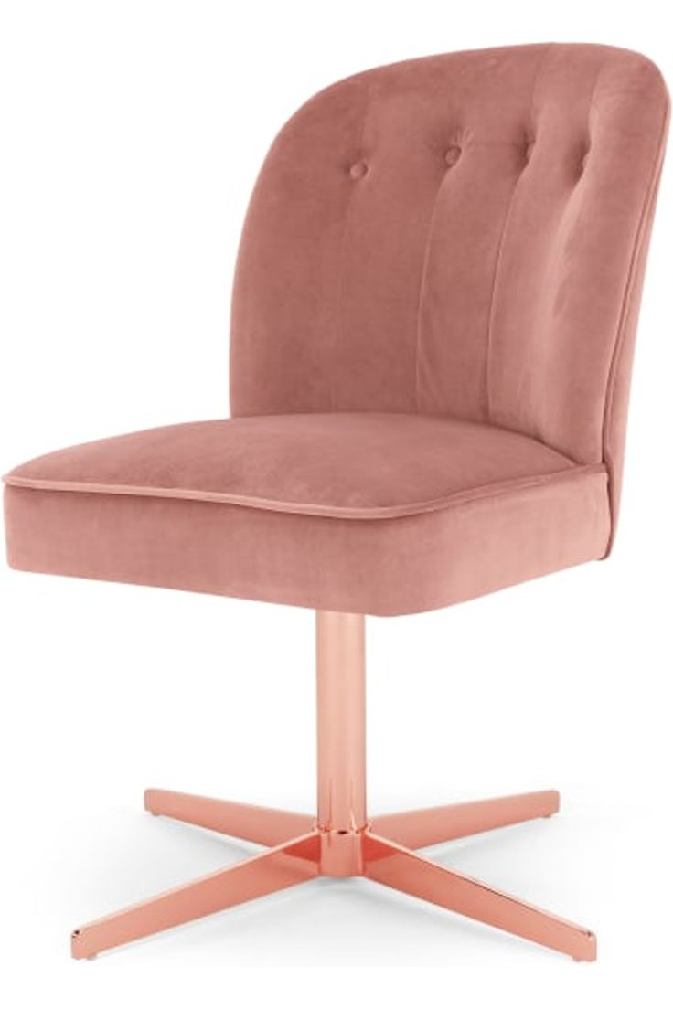 Made Blush Pink Office Chair In 2019 Home Office Chairs