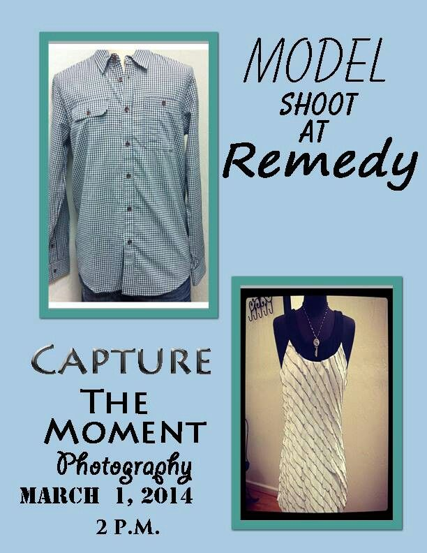 Attention all of you Models interested in Modeling the newest Fashion trends. We are searching for Both Male and Female young aspiring models. Capture the Moment Photography and Remedy is having a Spring collection Photo shoot. If you think you have what it takes and you are not afraid of the Camera. Contact Capture the Moment by Nikki on our Facebook page. Models under the age of 18 must have parents consent, a release form will need to be signed by all applicants. Models interested in…