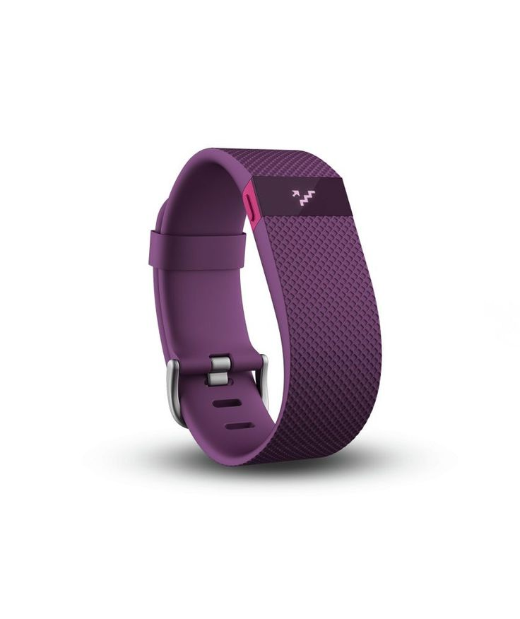 Buy Fitbit Charge HR Large Heart Rate Monitor Wristband - Plum at Argos.co.uk - Your Online Shop for Fitness and activity trackers.